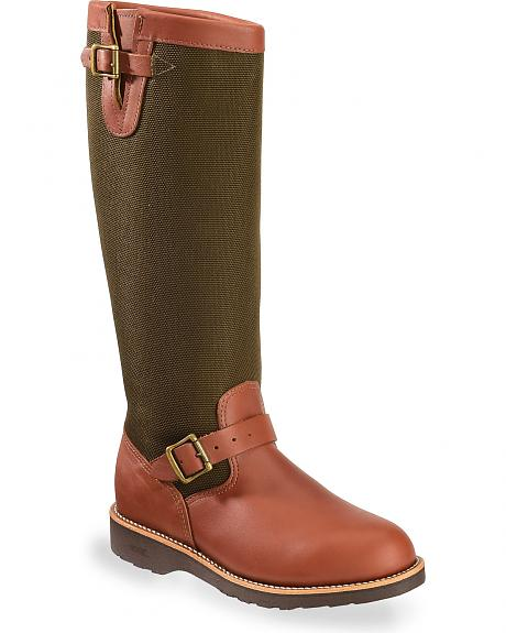 Chippewa Snake Proof Pull-On Work Boots