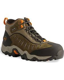 Timberland Pro Mid Waterproof Mudslinger Boots - Steel Toe