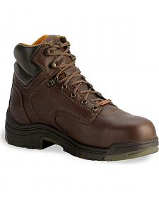 "Timberland Pro 6"" Waterproof TiTAN Boots - Composition Toe"