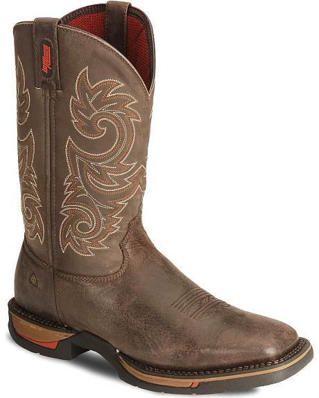 Rocky Men's Long Range Western Boots - Square Toe
