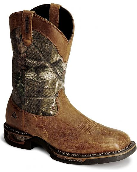 Rocky Long Range Waterproof Work Boot - Square Toe