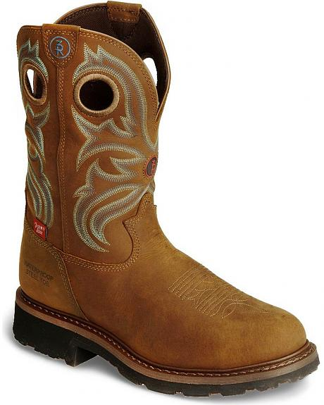 Tony Lama 3R Waterproof Work Boots - Steel Toe