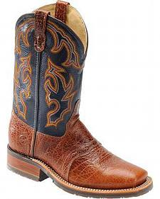 Double H Ice Western Work Boot - Square Toe