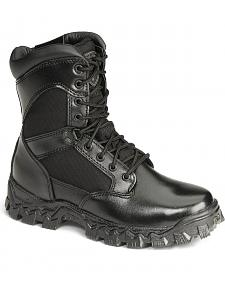"Rocky 8"" AlphaForce Zipper Waterproof Duty Boots"