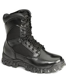 """Rocky 8"""" AlphaForce Zipper Waterproof Duty Boots"""