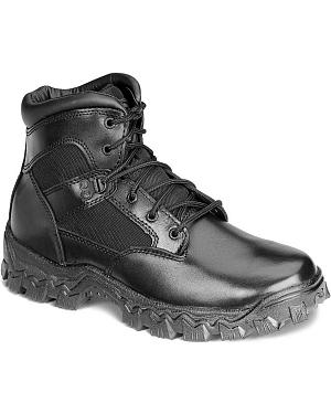 "Rocky 6"" AlphaForce Lace-up Waterproof Duty Boots"