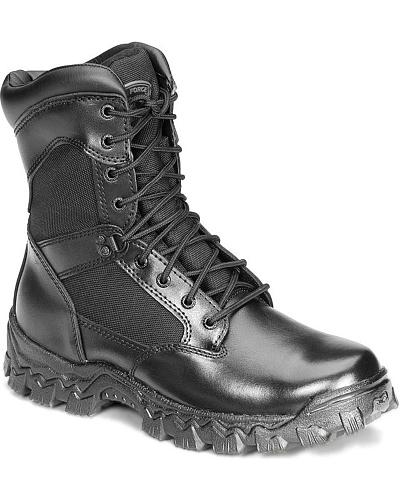 "Rocky 8"" AlphaForce Lace-up Duty Boots Western & Country 2165"