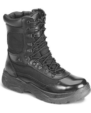 "Rocky 8"" Fort Hood Zipper Waterproof Duty Boots"