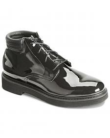 Rocky Dress Leather High Gloss Chukka Duty Shoes