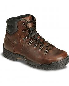 "Rocky Men's 6"" Mobilite Waterproof Work Boots - Steel Toe"