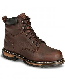 "Rocky 6"" IronClad Waterproof Work Boots - Steel Toe"