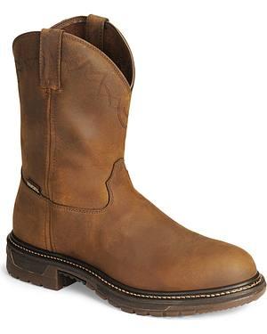 "Rocky 10"" Original Ride Roper Western Work Boots"