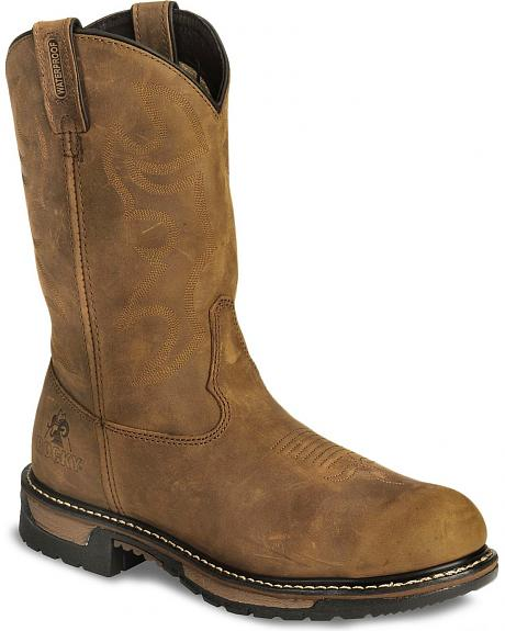 Rocky Branson Waterproof Work Boots - Steel Toe
