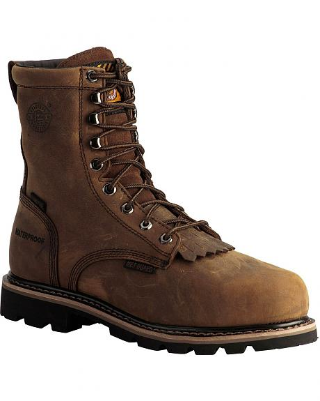 Justin Wyoming Waterproof 8