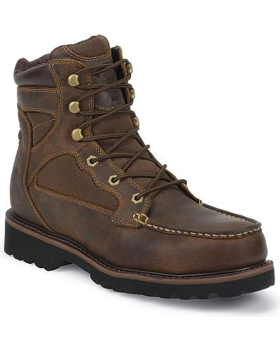 Justin Light Lace-Up Hiker Boots Composite Toe Western & Country WK957