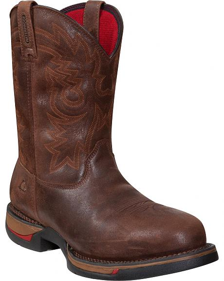 Rocky Long Range Pull-On Insulated Waterproof Work Boots - CompositeToe