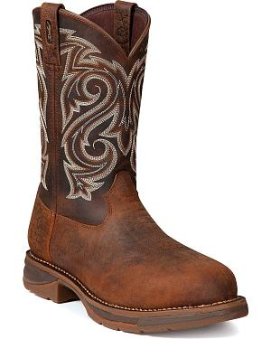 Durango Mens Rebel Work Boot - Steel Toe