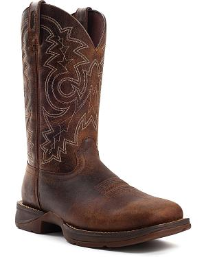 Durango Mens Rebel Work Boot - Square Toe