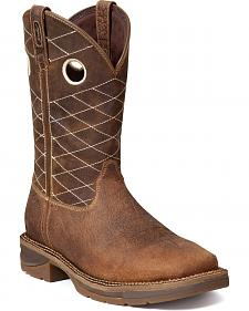 Durango Rebel Fancy Stitched Work Boots - Steel Toe