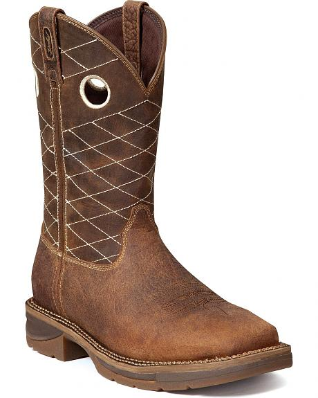 Durango Rebel Waterproof Work Boot - Square Toe