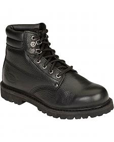 "Dickies Raider 6"" Lace-Up Work Boots - Steel Toe"