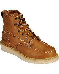 "Dickies Trader 6"" Lace-Up Work Boots - Round Toe"