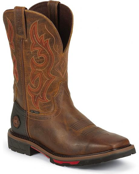 Justin Hybred Work Boots - Composite Toe