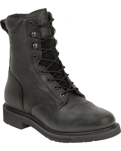 Justin Stampede Black Oiled 8