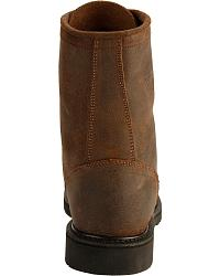 Justin American Tradition Lace-Up Work Boots at Sheplers