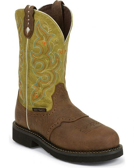 Justin Gypsy Work Boots - Composition Toe
