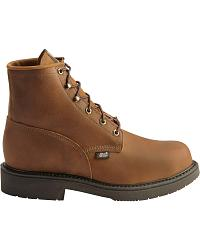 Justin Lace-Up Work Boots - Steel Toe at Sheplers