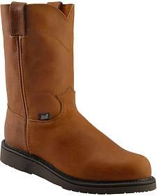 Justin Western Work Boots - Round Toe