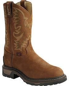 Tony Lama Cheyenne TLX Work Boots - Round Toe