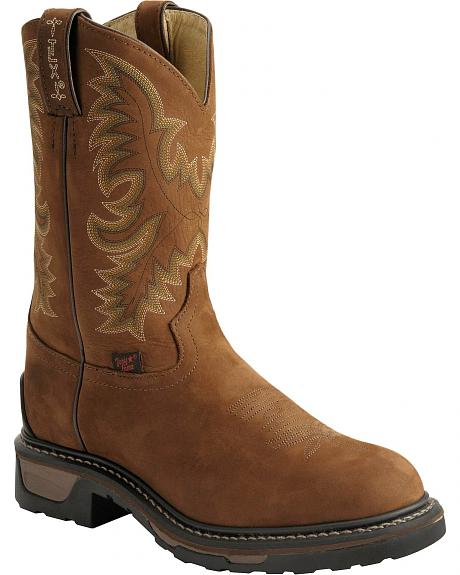Tony Lama Men's Cheyenne TLX Work Boots - Round Toe