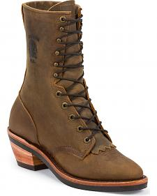 "Chippewa 10"" Packer Boots"