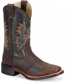Double H Men's Roper Western Boots - Square Toe