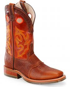 Double H Men's Roper Buckaroo Western Boots - Square Toe