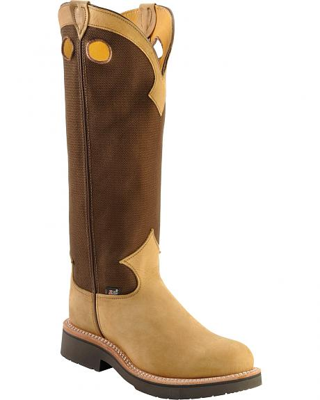 Justin Dune Traction Snake Boots - Steel Toe