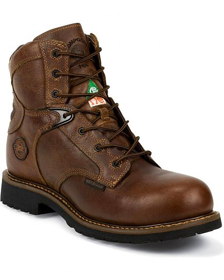 Justin Rugged Utah Waterproof 6