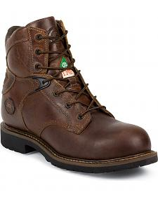 Justin Rugged Utah Work Boots - Composite Toe