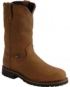 Justin Wyoming Waterproof Work Boots - Steel Toe