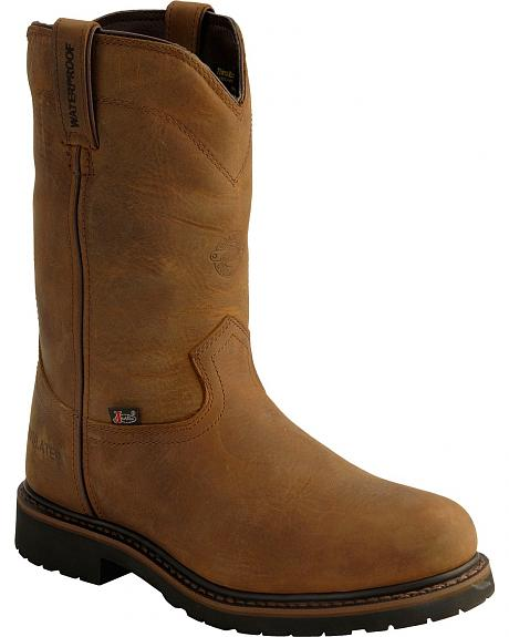 Justin Wyoming Insulated Waterproof Work Boots - Steel Toe