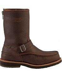 Chippewa Waterproof Bison Zip-up Harness Boots - Moc Toe at Sheplers