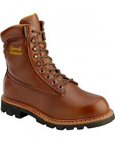 "Chippewa 8"" Waterproof Briar Hiking Boots - Round Toe"