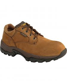 Chippewa Waterproof Oxford Work Shoes - Round Toe