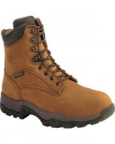 "Chippewa Waterproof & Insulated Bay Apache  8"" Lace-Up Work Boots - Comp Toe"