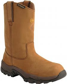 Chippewa Waterproof Apache Pull-On Work Boots - Composition Toe