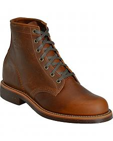 "Chippewa Service 6"" Lace-Up Boots - Round Toe"