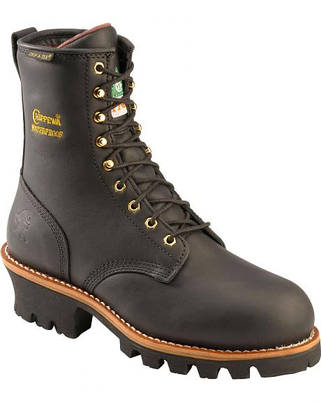 Innovative SafetyGirl II Steel Toe Waterproof Womens Work Boots  Black