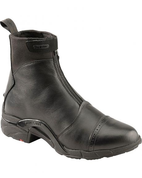 Tony Lama Stratford Waterproof Zip-Up Boots